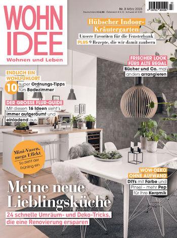 wohnidee abo im geschenkabo bei easy abo bestellen. Black Bedroom Furniture Sets. Home Design Ideas
